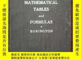 二手書博民逛書店罕見英文版數學公式手冊Y245302