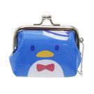 【日本進口正版】企鵝 山姆企鵝 Tuxedosam 三麗鷗人物 珠扣包 零錢包 Sanrio - 052496