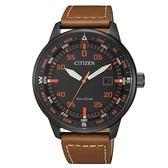 CITIZEN 星辰簡約質感光動能腕錶/BM7395-11E