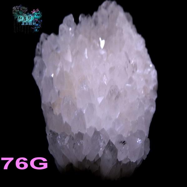 【Ruby工作坊】  NO.76WM超優白水晶簇一件(加持祈福)76G