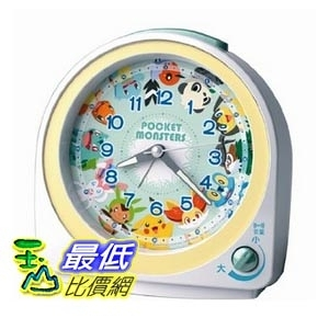 [東京直購] SEIKO CLOCK CQ417W 時鐘 鬧鐘 神奇寶貝 精靈寶可夢 Pokemon Alarm Clock