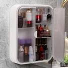 化妝品收納架衛生間置物架免打孔墻上浴室洗手間放置壁掛式置物柜 快速出貨