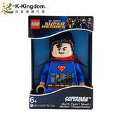 【LEGO 樂高鬧鐘】超級英雄系列 超人 9005701