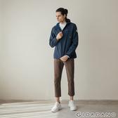 GIORDANO 男裝經典彈力素色休閒長褲-10 卡其
