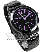 BETHOVEN 日本機芯 都會時尚 數字腕錶 紫/黑 女錶/中性錶/男款 2019紫黑