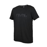 FIRESTAR 男彈性印花圓領短袖T恤(吸濕排汗 慢跑 路跑 運動 上衣 免運 ≡排汗專家≡