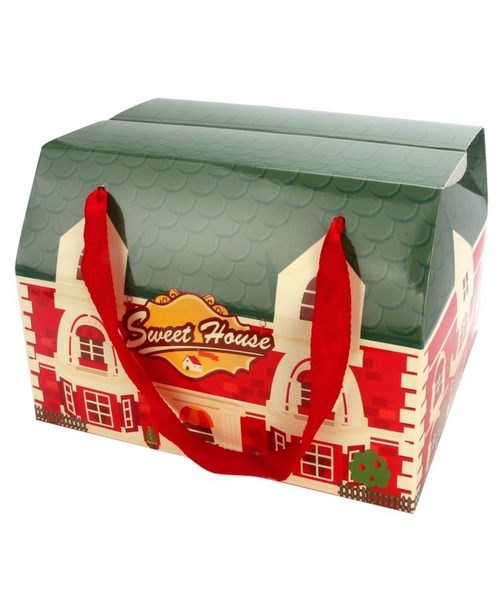 ❤[甜蜜的家]❤手提雙扣盒、蛋捲、野餐、伴手禮、手工餅乾、糖果、玩具、各式禮品(50入/組)