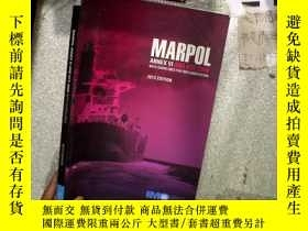 二手書博民逛書店MARPOL罕見ANNEX VI AND NTC 2008 WI