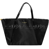 【VT薇拉寶盒】GIVENCHY 紀梵希 PARFUMS 時尚雙線購物袋(黑)