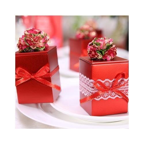 [24hr-快速出貨]  繁花似錦 創意 禮物盒 鐵盒 喜糖盒 喜宴回禮 包裝盒 收納盒 小物收納