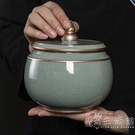 陶瓷茶葉罐精品高檔密封儲茶罐子家用大號醒茶罐中式防潮存儲罐 小時光生活館