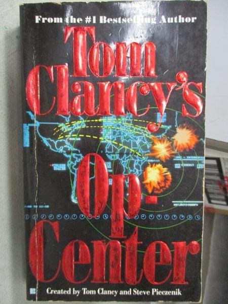 【書寶二手書T7/原文小說_CJP】Tom Clancy s Op-Center