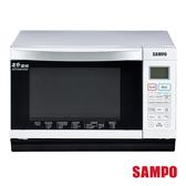 【聲寶SAMPO】28L平台式微波爐RE-B428PDM