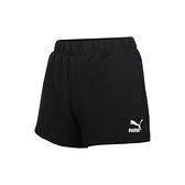 PUMA 女高腰短褲(歐規 三分褲 針織 運動 慢跑  ≡排汗專家≡