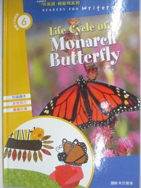 【書寶二手書T1/語言學習_ET4】Life Cycle of a Monarch Butterfly(1書+1CD)