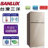 SANLUX台灣三洋 533L變頻2門電冰箱 SR-C533BVG