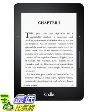 "[美國代購] Kindle Voyage E-reader WiFi  , 6"" High-Resolution Display (300 ppi) with Adaptive Built-in Light"