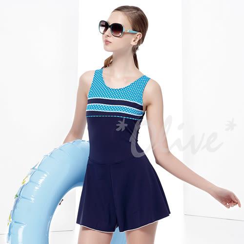 ☆小薇的店☆MIT聖手品牌【簡約圓點風格】時尚連身褲裙泳裝特價990元 NO.A88413(S-L)