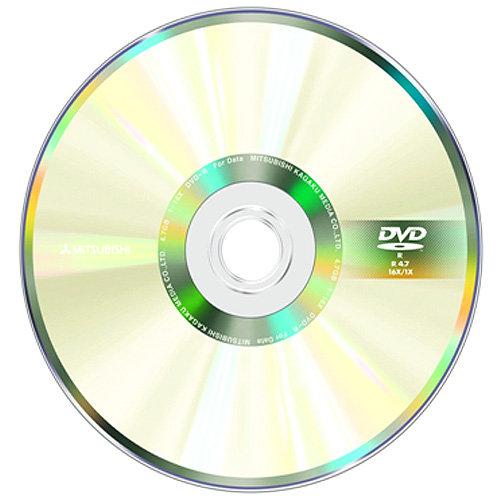 ◆免運費◆三菱 空白光碟片國際版 DVD-R 4.7GB 16X 光碟燒錄片X100片