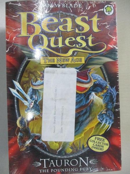 【書寶二手書T6/兒童文學_AFU】Beast Quest-Elko lord of the sea_Tarrok the blood spike_等…共6本合售_Adam blade