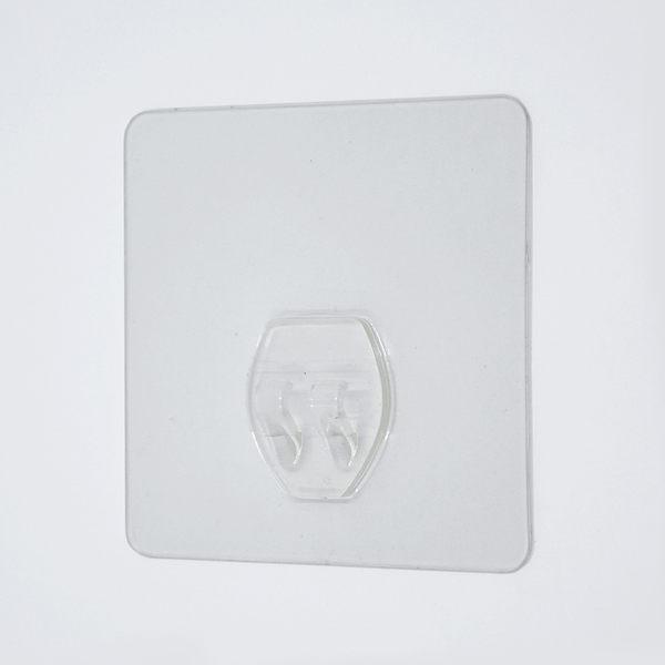 正方形單勾貼片 超級黏膠無痕掛勾 易立家生活館 舒適家企業社 補充替換用 不需輔助貼