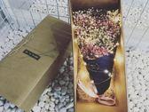 滿天星干花大花束禮盒生日七夕情人節閨蜜畢業季永生花禮物520 魔方數碼館igo