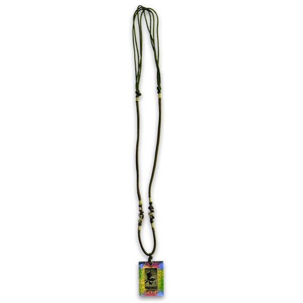 鹿港窯~居家開運金箔琉璃項鍊~十二生肖-鼠 ◆附精美包裝
