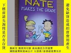 """二手書博民逛書店Big罕見Nate Makes the Grade """"我們班有個"""