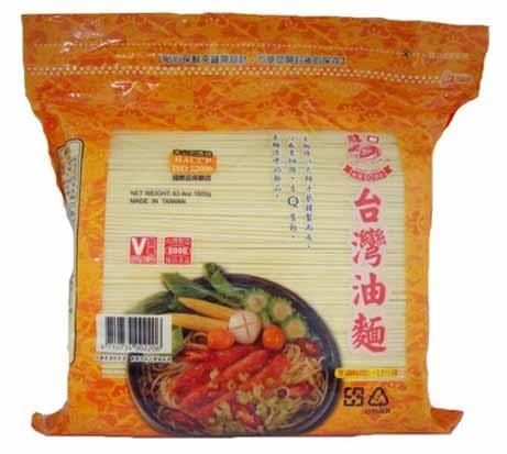 龍口台灣油麵1.8kg【愛買】