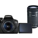 CANON EOS 750D+18-55mm+55-250mm STM 雙鏡組*(平輸)-送128G記憶卡電池座充雙鏡包鋁合金腳架拭鏡筆大清硬保