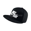 Nike 帽子 Air Trie - Eos Snapback Cap 黑 白 電繡 LOGO 後扣式 棒球帽 男女款 【ACS】 805063-010