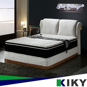 【KIKY】姬梵妮 慾望之翼HR氣墊泡棉包覆獨立筒床墊(單人加大3.5尺)
