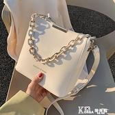 夏季小包包女2020新款潮網紅斜背包百搭時尚水桶包洋氣單肩包
