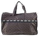 WAYNA 摺疊大旅行袋 - 立體三柱 黑色