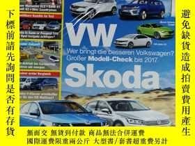 二手書博民逛書店auto罕見motor spor 汽車雜誌 2014年4月3日 英文版Y42402