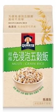 桂格免浸泡五穀飯1kg【合迷雅好物超級商城】