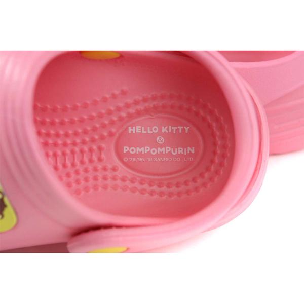 凱蒂貓x布丁狗 HELLO KITTY x POMPOMPURIN  涼鞋 花園鞋 粉紅色 中童 KT0401 no804