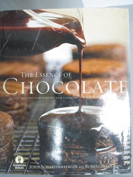 【書寶二手書T1/餐飲_XEG】The Essence of Chocolate: Recipes for Baking…