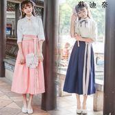 民國風學生裝古裝女漢服改良襦裙