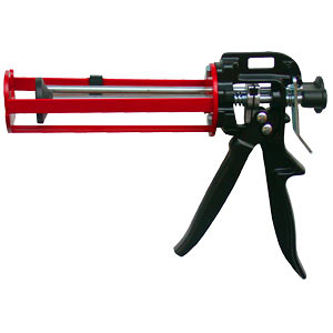 235ml 台灣製造專業型 雙液型鐵製植筋膠槍 植筋槍 植筋膠注射器 植筋專用填縫注射槍