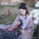 扇子摺扇中國風舞蹈扇女夏季摺疊扇古裝日式小復古布古典古風摺扇 元旦狂歡購