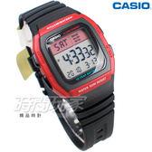 CASIO卡西歐 W-96H-4A 樂活休閒 10年電力 人氣電子錶款 鬧鈴 碼錶 兩地時間  膠帶款 W-96H-4AVDF