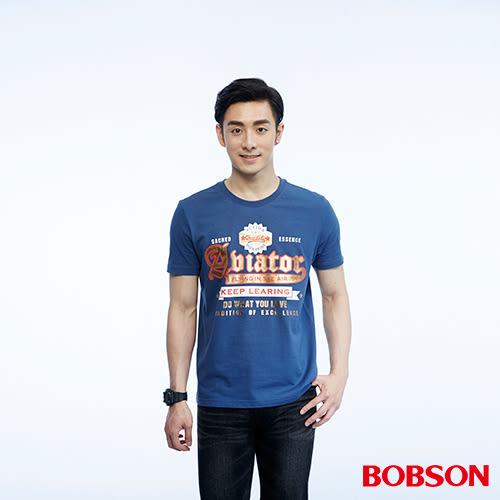 BOBSON  男款印圖上衣(26018-53)