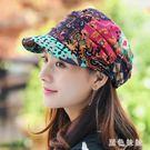 貝雷帽帽子女秋冬加絨韓版布帽加厚保暖時裝...