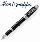 義大利Montegrappa萬特佳 Caduceus財富醫生筆系列 - 鋼筆 (黑) ISFOM_YC / 支
