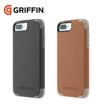 Griffin Survivor Prime iPhone 8 Plus / iPhone 7 Plus 真皮防摔保護套