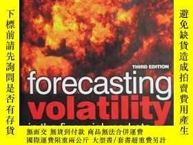 二手書博民逛書店Forecasting罕見Volatility in the F