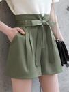 花苞短褲女夏季薄款寬鬆高腰闊腿顯瘦外穿雪紡休閒a字2021年新款 黛尼時尚精品