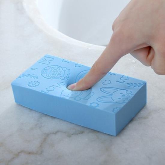 柔軟親膚洗澡海綿 家用 兒童 沐浴海綿 成人 寶寶 通用 洗澡 搓澡 搓背 去污【N442】♚MY COLOR♚