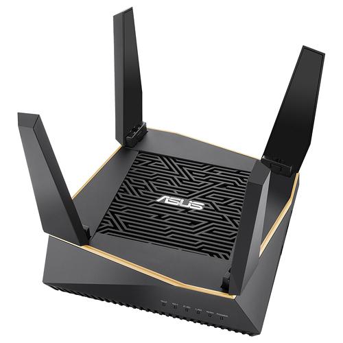 ASUS 華碩 RT-AX92U (單包裝) RT-AX92 AX6100 Ai Mesh 三頻 WiFi 6 無線路由器
